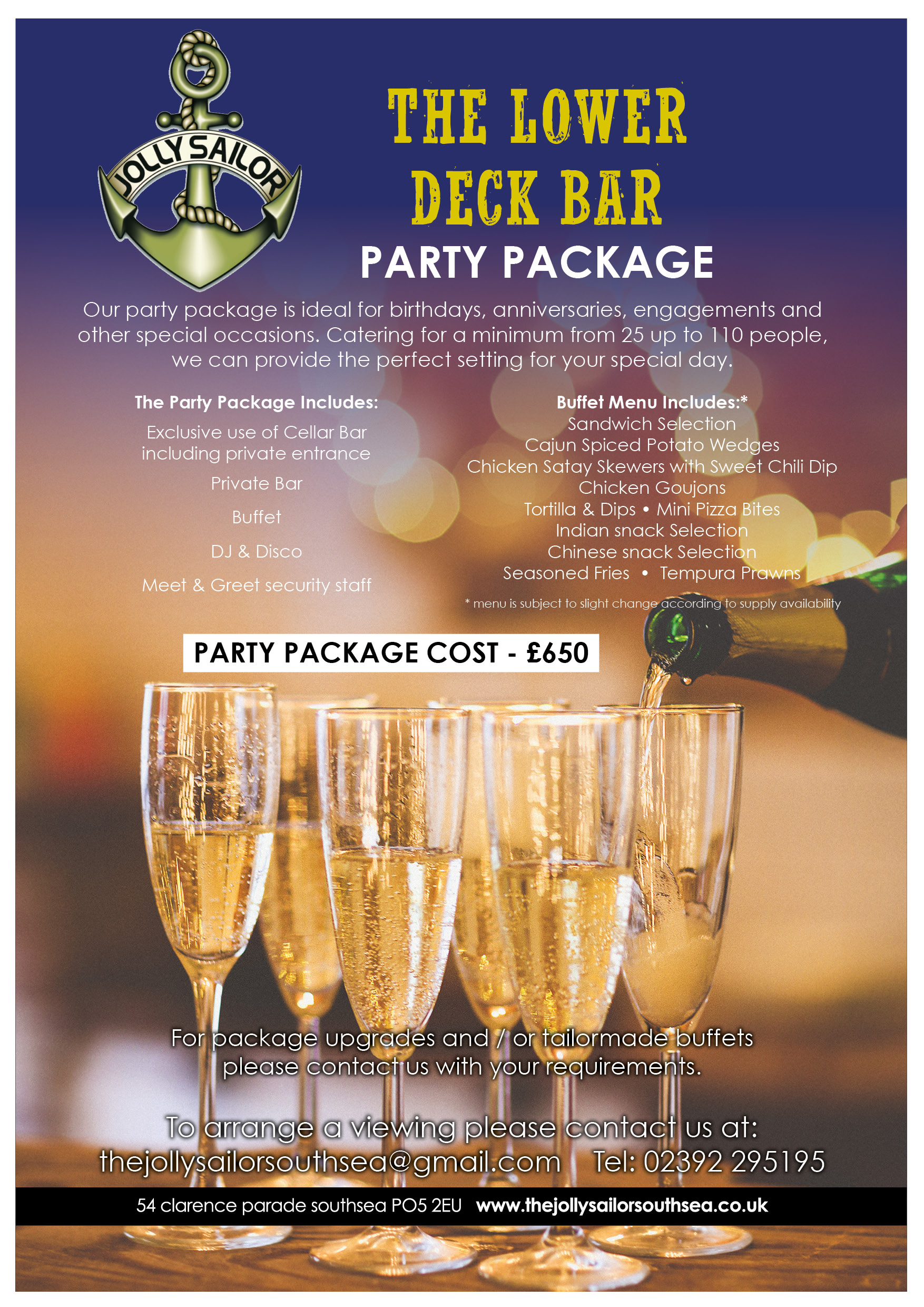 party package function hire