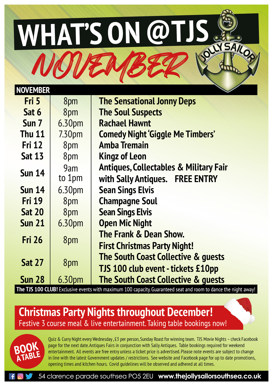November gig guide